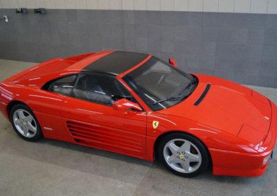Roter Ferrari F 348 von Auto Resch in Wegscheid
